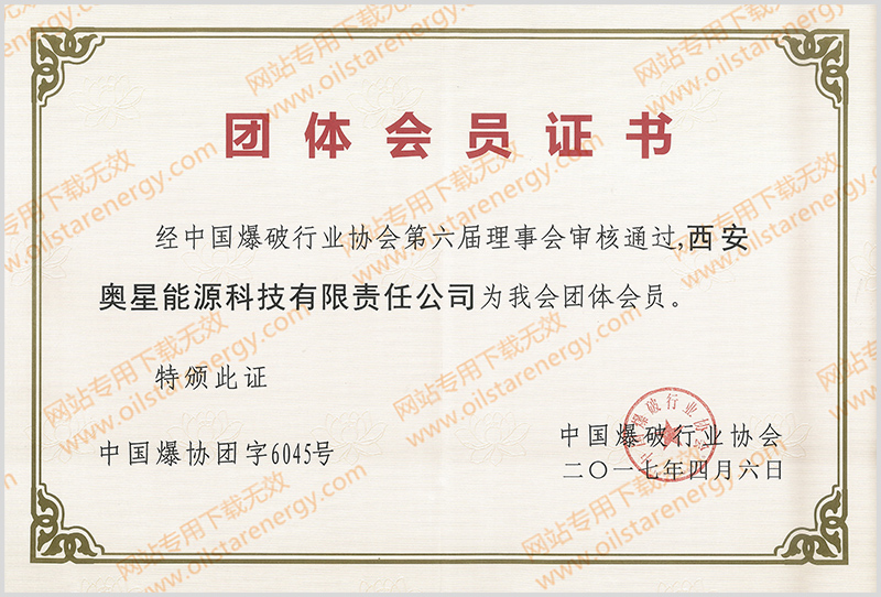 title='团体会员证书'